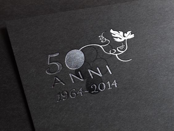 Logo Anniversario Cantina stampato