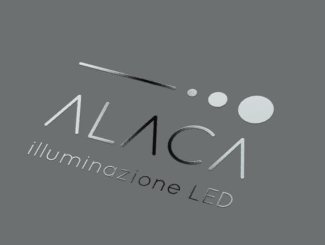 Logo Alaca verniciatura UV