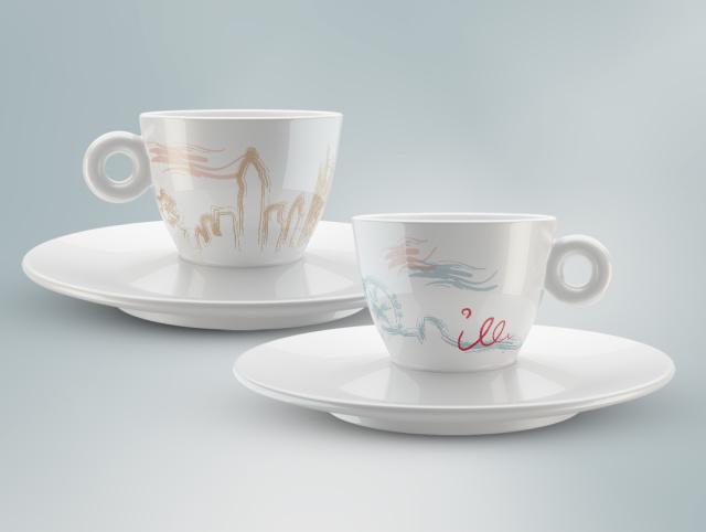 illy mug design